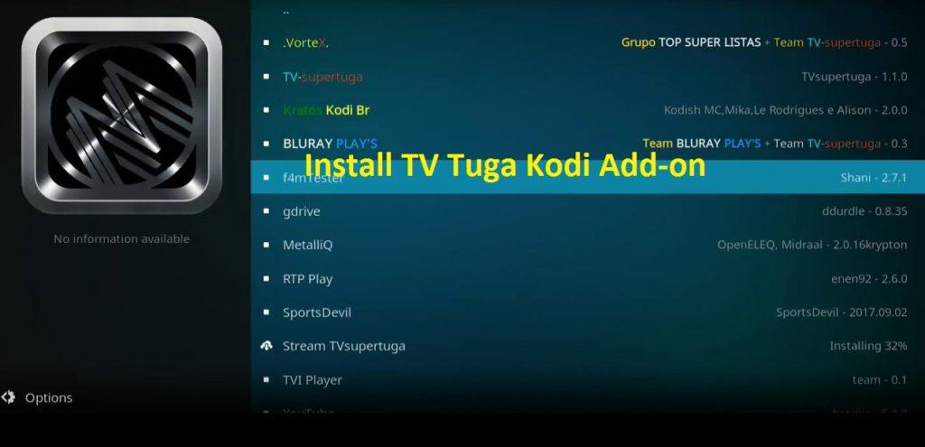 TV Tuga kodi