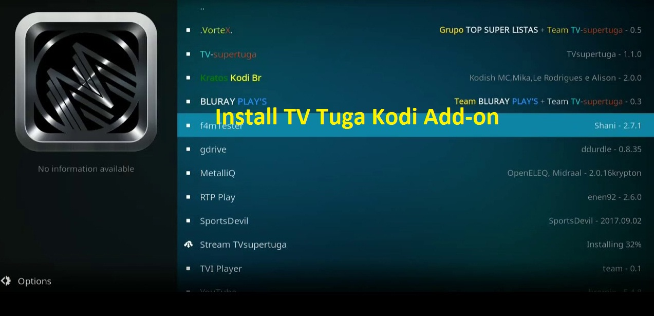 How to install TV Tuga Kodi Add-on in simple steps 2020