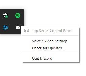 Discord Top Secret Control Panel Review