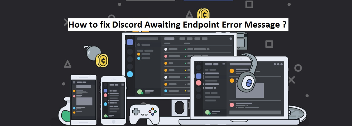 How to fix Discord Awaiting Endpoint Error Message
