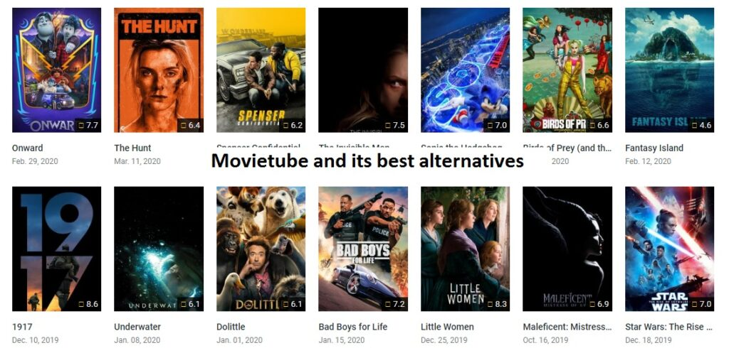 Movietube and its alternatives