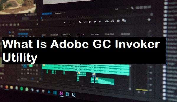 How to disable Adobe GC Invoker Utility
