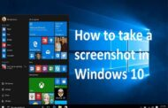 How to take a screenshot in Windows 10 Operating System